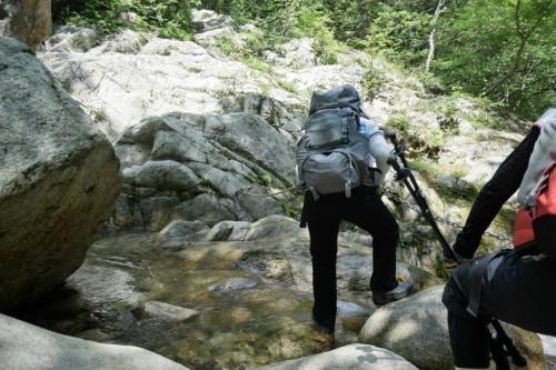 滋賀県・八つ淵の滝トレッキング⑩