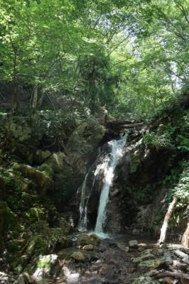 滋賀県・八つ淵の滝トレッキング⑬
