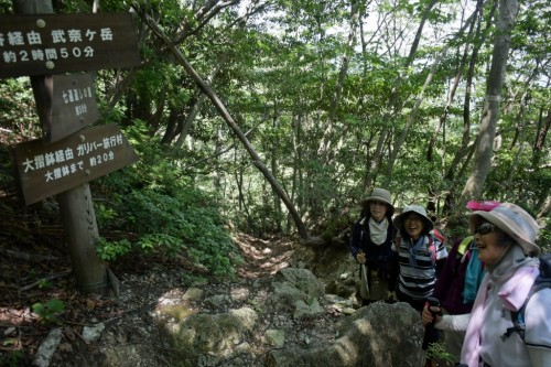 滋賀県・八つ淵の滝トレッキング⑯