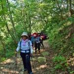 滋賀県・八つ淵の滝トレッキング⑥