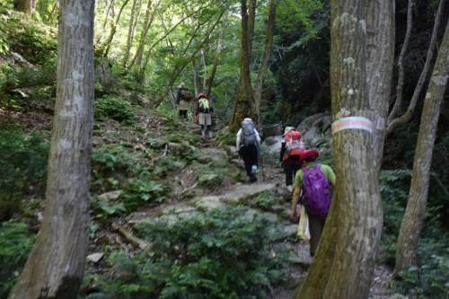 滋賀県・八つ淵の滝トレッキング㉑