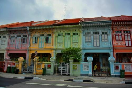 シンガポール風水ツアー⑨ カトン地区 プラナカン建築