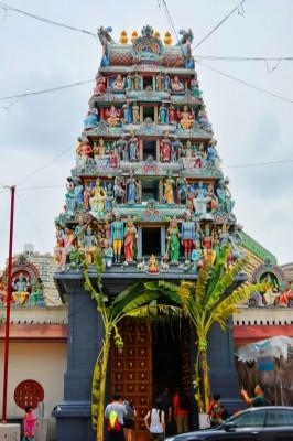 シンガポール風水ツアー㉓ スリ・マリアマン寺院