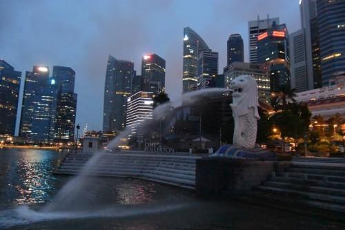 シンガポール風水ツアー④ マーライオン