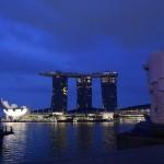 シンガポール風水ツアー③ マーライオンとマリーナベイサンズ