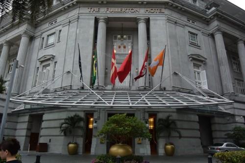 シンガポール風水ツアー⑦ フラトンホテル