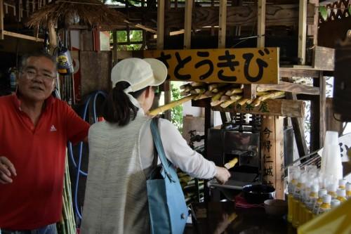 宙SORA 沖縄風水講座㉚ さとうきび絞り
