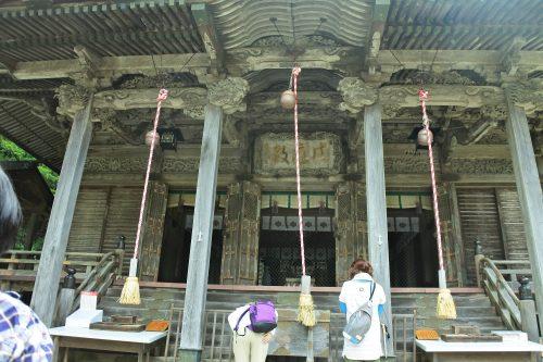 6-黄金山神社風水ツアー 復興とトレッキングの無事を祈ります