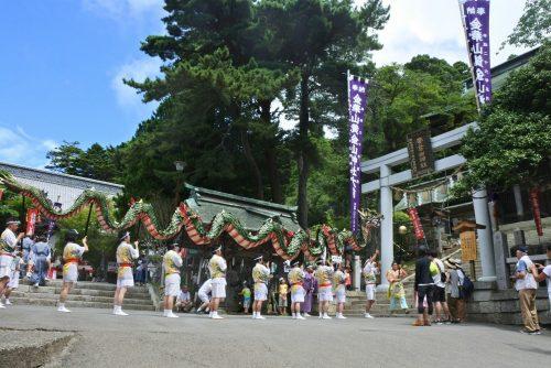 24-黄金山神社風水ツアー 龍神祭