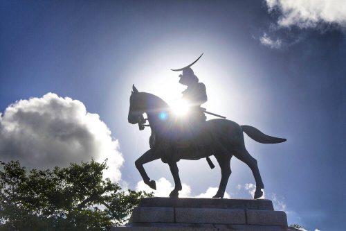 28-黄金山神社風水ツアー 仙台城跡を散策