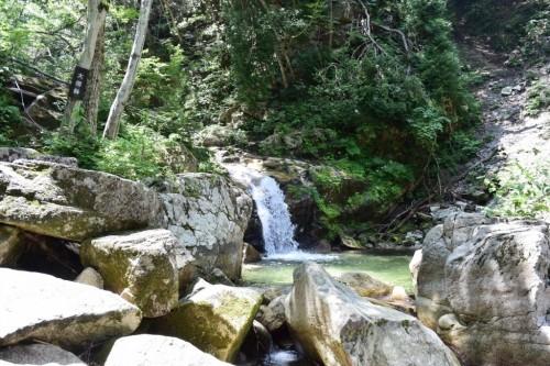 滋賀県・八つ淵の滝トレッキング⑪