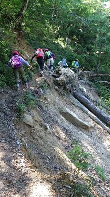 滋賀県・八つ淵の滝トレッキング⑦