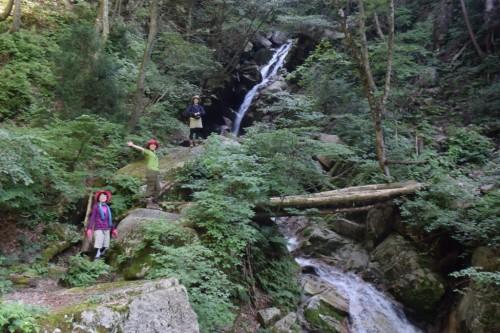 滋賀県・八つ淵の滝トレッキング㉒