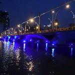 シンガポール風水ツアー② 夜明け前のマーライオンパーク
