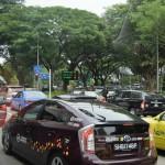 シンガポール風水ツアー㊴ 交通渋滞