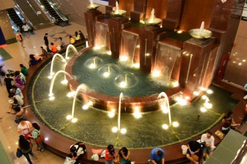 シンガポール風水ツアー㊳ 義安城(高島屋)噴水