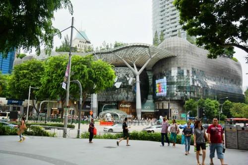 シンガポール風水ツアー㊽ アイオン・オーチャード