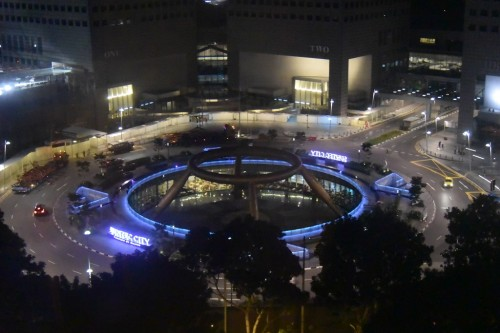 シンガポール風水ツアー㉛ 夜のサンテックシティーと富の噴水