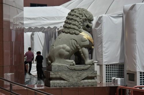 シンガポール風水ツアー㊱ 義安城(高島屋)の獅子