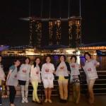 シンガポール風水ツアー㉙ マリーナベイサンズを見ながら「パームビーチ」でチリクラブ