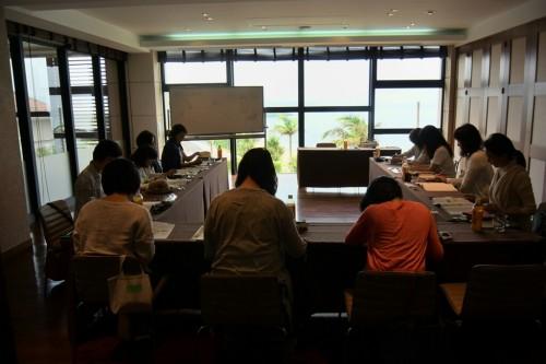 宙SORA 沖縄風水講座㊲2日目カフー会議室