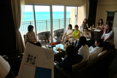 宙SORA 沖縄風水講座㉜ カフー初日風景