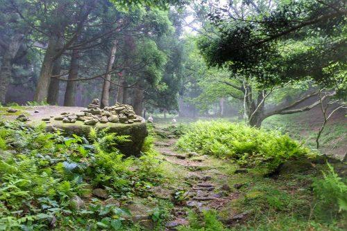 14-黄金山神社風水ツアー 遠くにお地蔵さまが