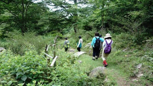 21-黄金山神社風水ツアー 登ったからには下山です