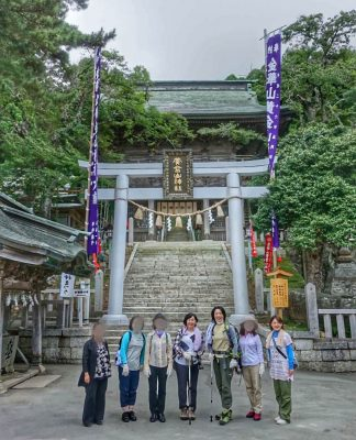 5-黄金山神社風水ツアー 登山前に参拝